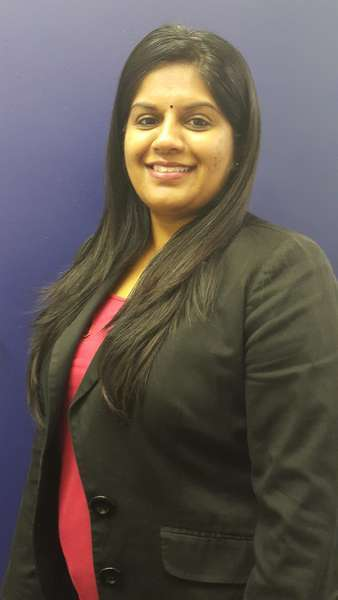 Optometrist Dhevashnee Pillay